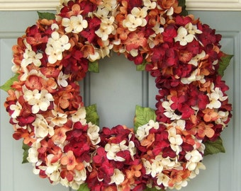 Fall/Autumn Wreath Fall Wreath Fall Wreath for Door