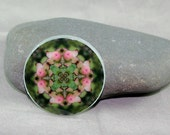 Flower Magnet Boho Chic Mandala New Age Sacred Geometry Hippie Kaleidoscope Picture Perfect