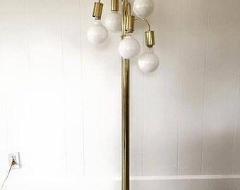 Vintage Hollywood Regency Floor Lamp