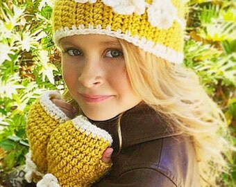 Crochet Head Warmer Pattern, Hand Warmer Crochet Pattern, Head and Hand Warmer Crochet Pattern, Raelynn Warmer Set Pattern, CROCHET PATTERN