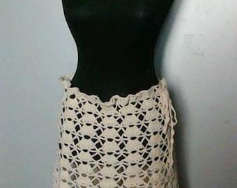 Crochet Skirt Festival Fashion Boho Wrap Crochet Bolero Shoulder Wrap Cowl Neckwarmer Mini Poncho Gift For Her