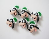 Goofy Buttons 6pc