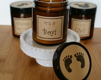 baby shower candle party favor 100 soy candles baby shower favor shower candle