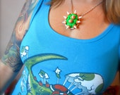 Bowser Shell Necklace