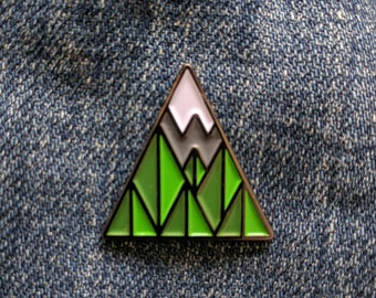 67 Trees Enamel Pin