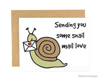Love Cards - Boyfriend Gift - Snail Mail - Girlfriend Card - Cute Valentines - Anniversary
