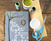 Selah Signs This Little Light of Mine in Gray