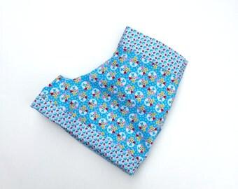 Toddler girl shorts - Blue - Toddler shorts - Cotton