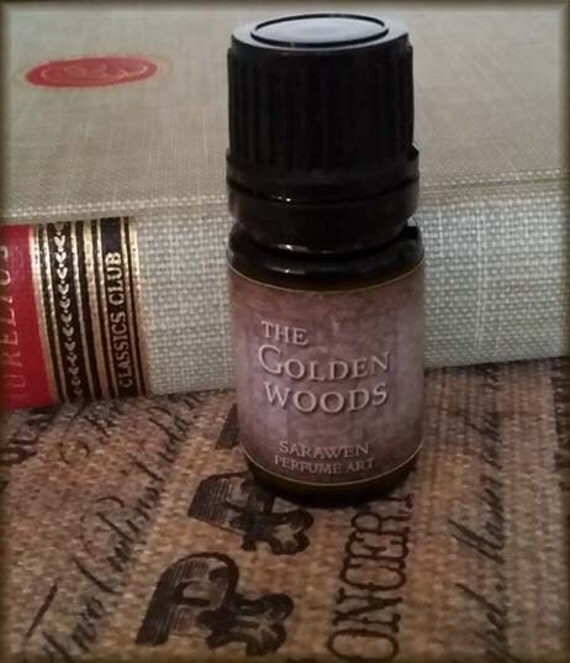 THE GOLDEN WOODS Perfume Oil / Inspired by Lord of the Rings Cologne Perfume / Vegan / Haldir Perfume