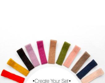 Felt Clips || Create Your Set || Pick Your Colors