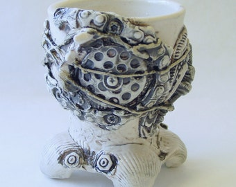 BioIndustrial Baroque Wine Cup with Drain v2.0