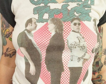 Vintage Cheap Trick Shirt 80s Concert Tee Concert Shirt Band Tee Soft Thin Hippie Boho Rocker 80s Tee Customized Rolling Stones Fashion