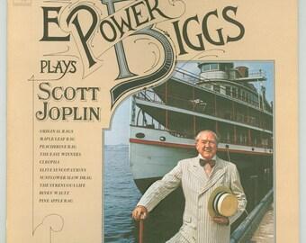 Scott Joplin E. Power Biggs Plays Scott Joplin on the Pedal Harpsichord - Rags. Columbia Masterworks LP M 33495, Vintage Vinyl Record Album