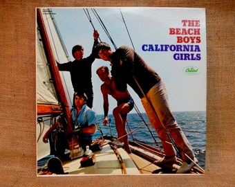 The Beach Boys - California Girls - Vintage Vinyl Record Album
