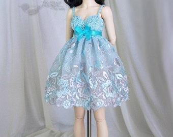 Light turquoise dress for MSD