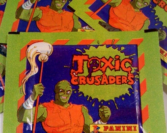 TOXIC Crusaders Stickers, 2 Packs