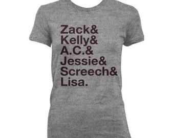 Women's Saved by the Bell Names WOMEN'S T-shirt