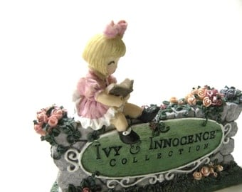 Emily's Welcome Figurine Ivy and Innocence Collection Nursery Figurine Collectible Gift for Little Girl Birthday Gift Ornament BEST PRICE