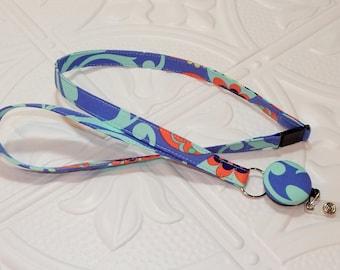Lanyard - Retractable Badge Lanyard - Breakaway Lanyard - Teacher Gift