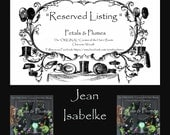 """RESERVED Installment Listing for """"JEAN ISABELKE"""" 2nd Installment for """"Halloween Wicked Witch w/ Crystal Ball"""" Wreath- 2017 Delivery"""