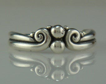 R996- Sterling Silver Ring- One of a Kind