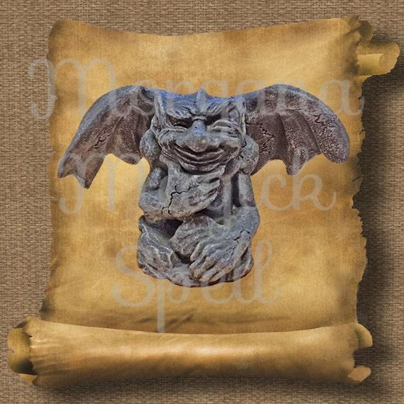 Gargoyle  Royalty Free Clip Art