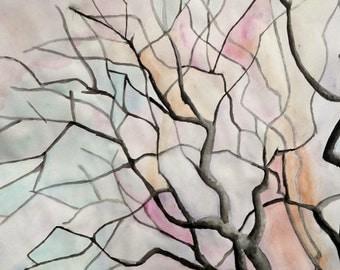 Watercolor Tree