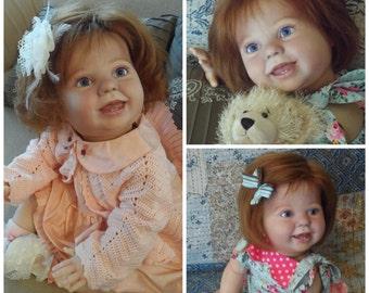 Reborn Toddler Art Doll AMELIA by Donna Rubert