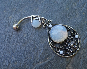 Opalite Belly Button Rings Navel Ring