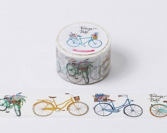 Bicycle Washi Tape (30mm X 10M)