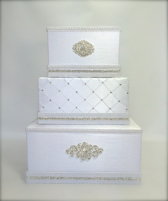 ... Wedding Card Holder with slot Card Box Gift Card Secure Lock Wedding