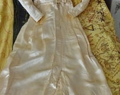 Antique Handmade Gown, 1900's Wedding Gown, Vintage Gown, Antique Wedding Gown, Wedding Gown, Miss Havisham, Downton Abbey