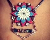 Wildflower Series: Starflower Mandala Necklace