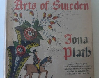 vintage book, The Decorative Arts of Sweden, Iona Plath, 1948, from Diz Has Neat Stuff
