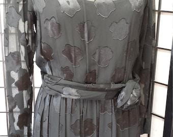 Helga Black Vintage Dress