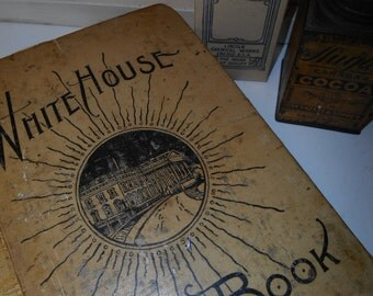 Amazing Collection Ephemera Recipe Grandma's Whitehouse Cook Book Antique A Life Time
