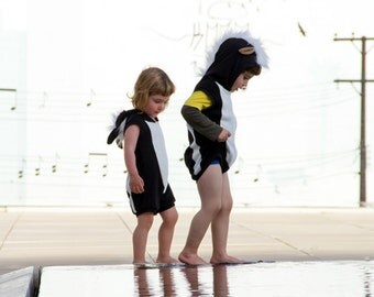 Skunk playsuit / summer costume / baby halloween costume / kids costume