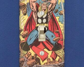 Thor - Superhero Light Switch Plate - One-of-a-Kind