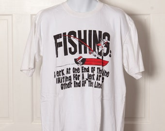 Funny 90s Fisherman Tshirt - FISHING