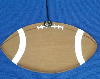 Football Ornament/Gift Tag/Party Favor (to Personalize) -- SP5