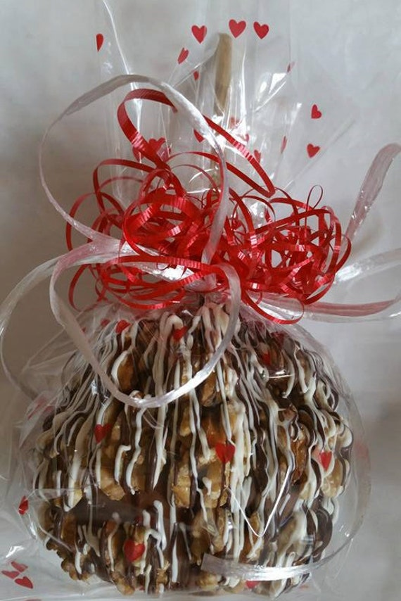 Chocolate covered caramel apple