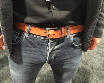 Custom Harness Leather Belts