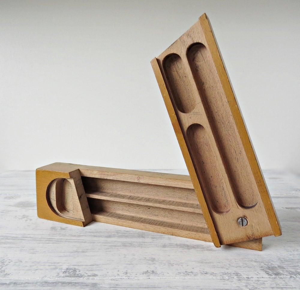 wooden pencil holder plans vintage - 151.1KB