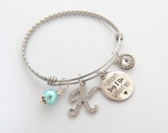 Bridesmaid Gift, Bridesmaid Bracelet , Couldn't say I do without you, Maid of Honor Bracelet,Will you be my bridesmaid Gift, Wedding Gift
