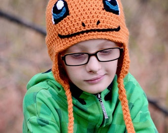Charmander hat, Pokemon, Crochet By Allie