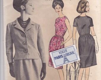 Patou Dress & Jacket Pattern Vogue Paris Original 1280 Size 14 Uncut with Label