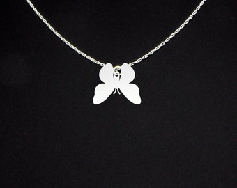 Moth Necklace - Moth Jewelry - Moth Gift