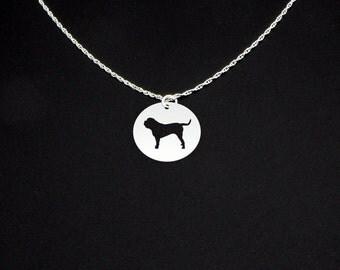 Mastiff Necklace- Short Hair - Mastiff Jewelry - Mastiff Gift