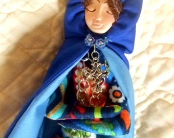 Art Doll Mother Mary OOAK