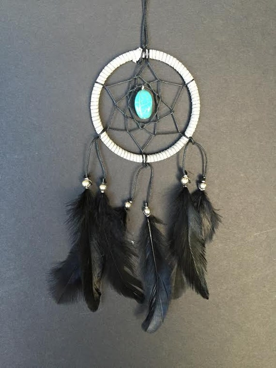 Where To Hang Your Dream Catcher Gray Black Turquoise Stone Dream Catcher Car Mirror 29